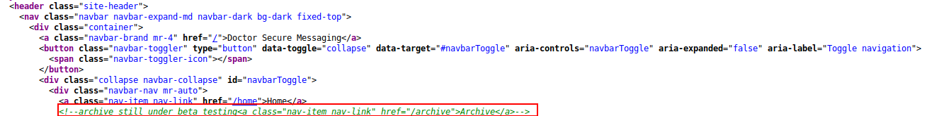 Archive still under beta testing...