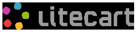 Website showing LiteCart is running.