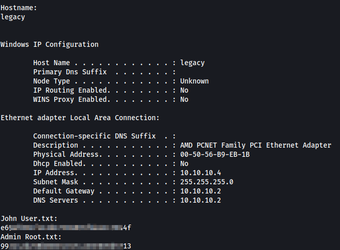 Showing 'root' flags off in style. Useful for the OSCP.
